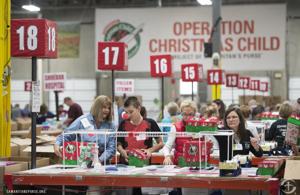 Operation Christmas Child Trip - Atlanta Distribution Center