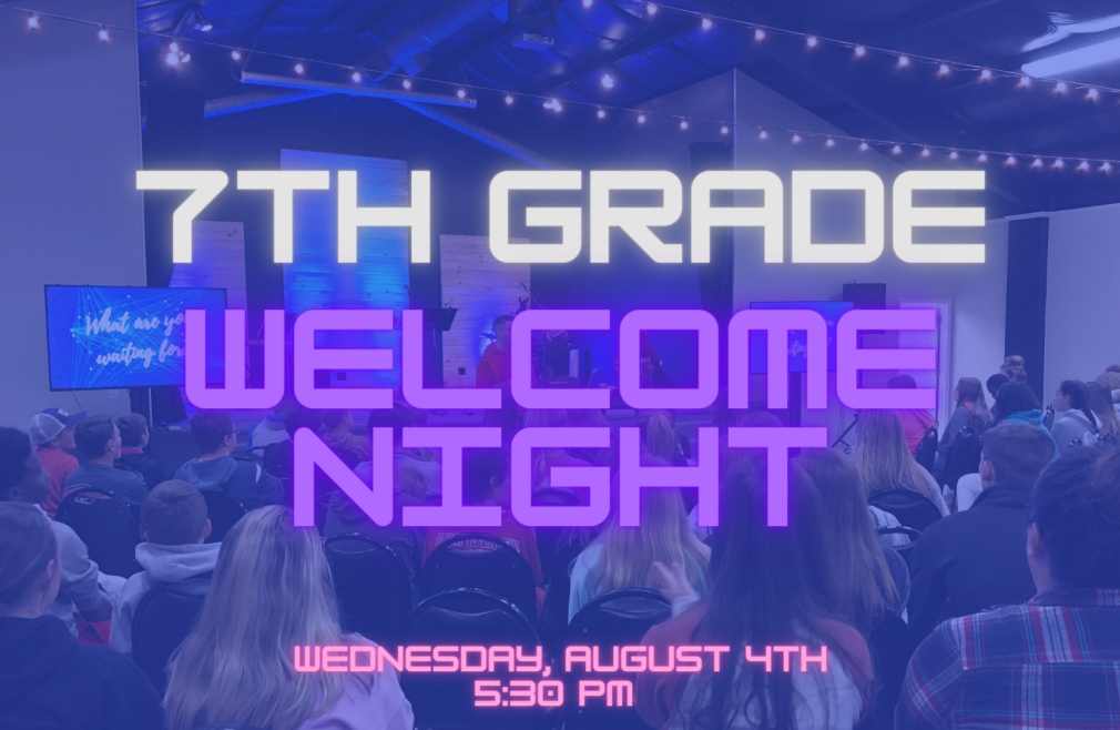 7th Grade Welcome Night